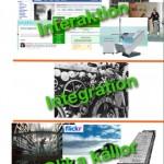 Modell för kampanj på webben och i sociala medier