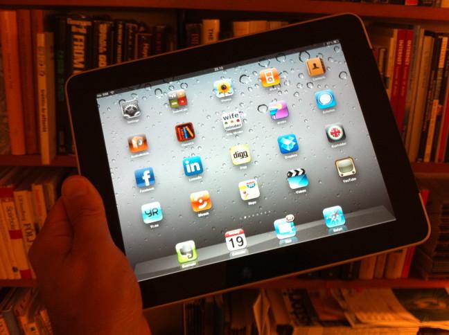 24 timmar med iPad