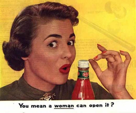 """Sexistisk reklam från den gamla """"goda"""" tiden"""
