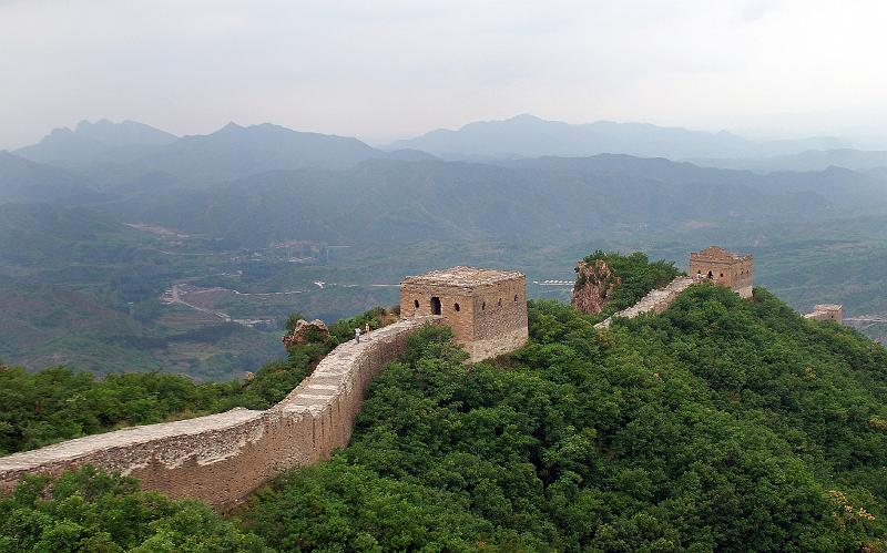 De kinesiska murarna