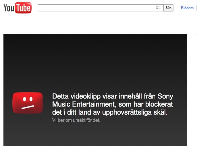 Sony fattar inget av den sociala webben