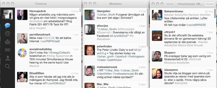 Krönika i Datorn i Utbildningen: Mina tweets och jag …