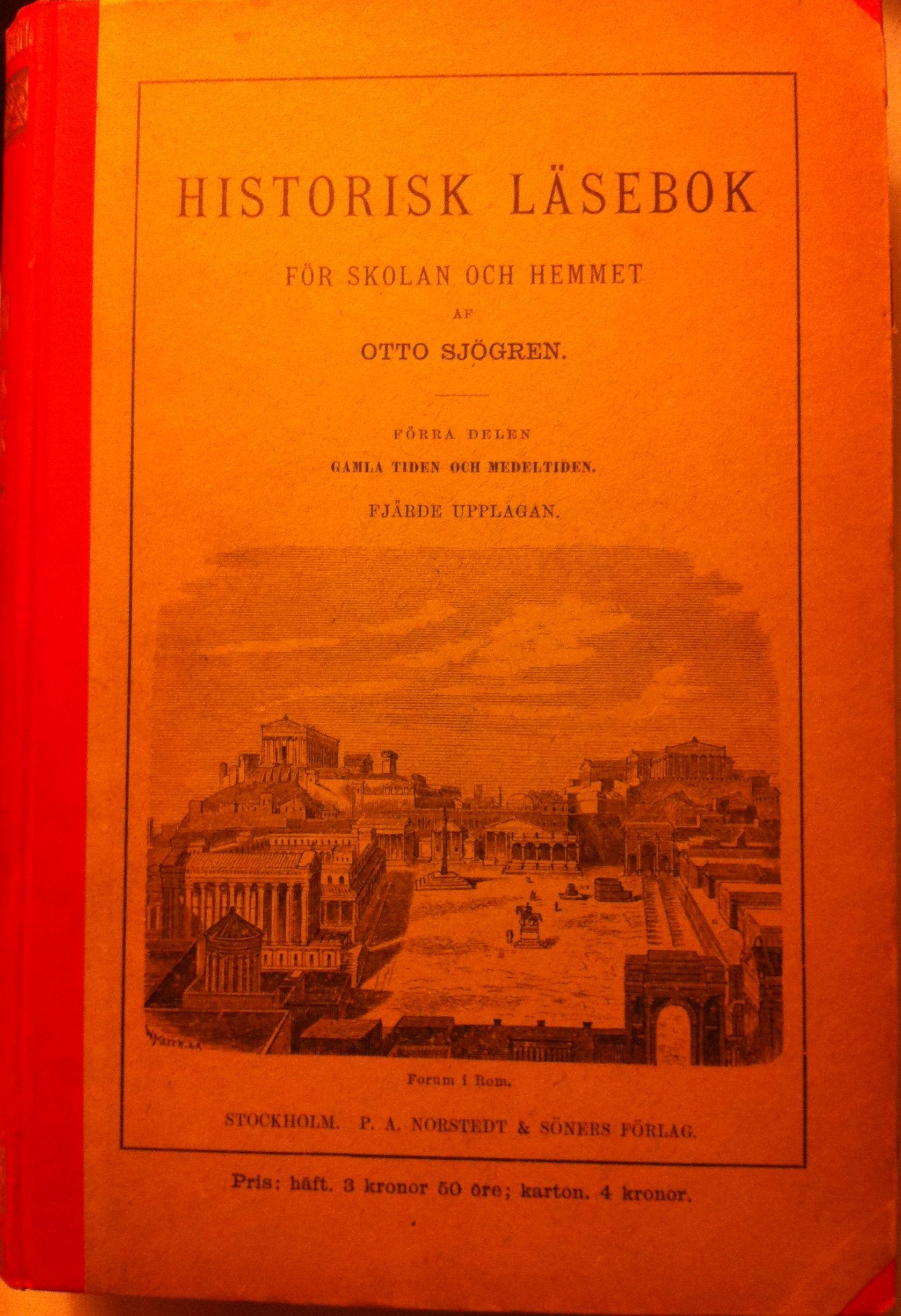 Historisk läsebok – god läsning från 1889