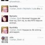 Mina tweets och jag: tweet #2 - mars 2012