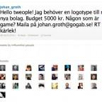 Mina tweets och jag: tweet #4 - maj 2012