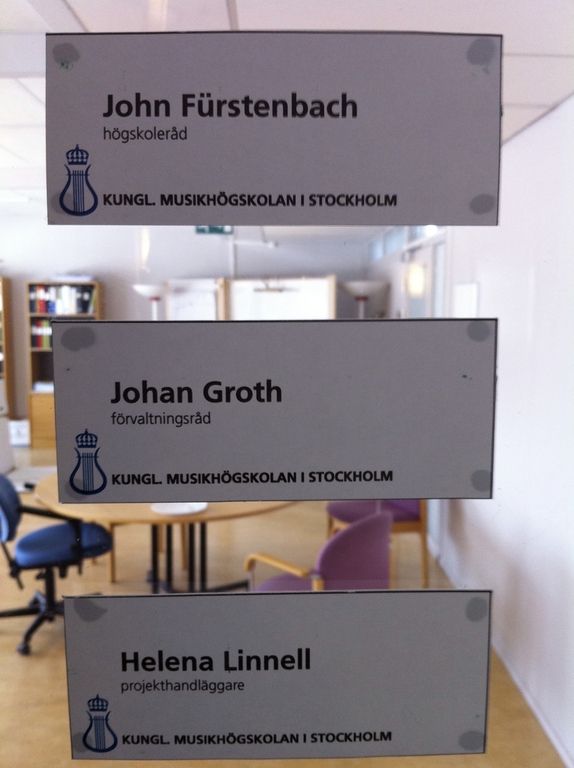 Förvaltningsråd på KTH