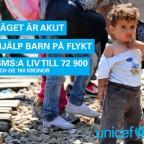 Kämpa för barn på flykt