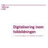 Rapport om digitalisering för Folkbildningsrådet