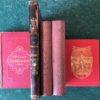 Fem äldre böcker